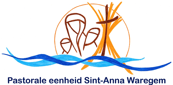 Logo for pastorale eenheid Sint-Anna Waregem
