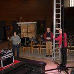 foto's van de voorbereiding van Let it Shine 2020 kerk Beveren-Leie
